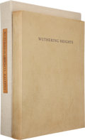 Books:Fine Press & Book Arts, [Limited Editions Club]. Balthus, lithographs. Emily Brontë.Wuthering Heights. Afterword by Balthus. New York: ...