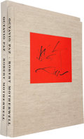Books:Fine Press & Book Arts, [Limited Editions Club]. Octavio Paz. Three Poems.Lithographs by Robert Motherwell. [New York]: The Limited Edi...