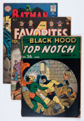 Golden Age (1938-1955):Miscellaneous, Comic Books - Assorted Golden Age Comics Group (Various Publishers, 1940s) Condition: FR.... (Total: 12 Comic Books)