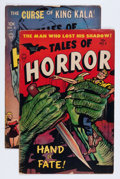 Golden Age (1938-1955):Horror, Tales of Horror Group (Toby Publishing, 1953) Condition: AverageVG-.... (Total: 2 Comic Books)