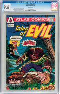 Bronze Age (1970-1979):Horror, Tales of Evil #1 (Atlas-Seaboard, 1975) CGC NM+ 9.6 White pages....