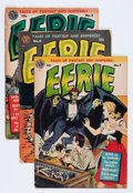 Golden Age (1938-1955):Horror, Eerie #4-8 Group (Avon, 1952) Condition: Average GD+.... (Total: 5Comic Books)