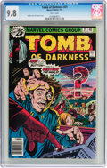 Bronze Age (1970-1979):Horror, Tomb of Darkness #21 (Marvel, 1976) CGC NM/MT 9.8 White pages....