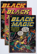 Golden Age (1938-1955):Horror, Black Magic Group (Prize, 1952-53) Condition: Average VG....(Total: 7 Comic Books)