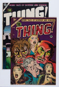 Golden Age (1938-1955):Horror, The Thing! #10 and 16 Group (Charlton, 1953-54) Condition: AverageFN/VF.... (Total: 2 Comic Books)