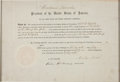 Autographs:U.S. Presidents, Abraham Lincoln Postal Appointment Signed...