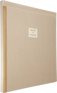 [Limited Editions Club]. Octavio Paz. Sight and Touch. With Three Woodcuts by Balthu