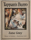 Books:Literature 1900-up, Zane Grey. Tappan's Burro and Other Stories. New York:Harper & Brothers, [1923]. First edition. With Zane Grey's ...
