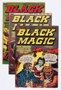 Golden Age (1938-1955):Horror, Black Magic Group (Prize, 1953-61) Condition: Average VG....(Total: 13 Comic Books)
