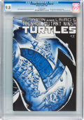 Modern Age (1980-Present):Humor, Teenage Mutant Ninja Turtles #2 (Mirage Studios, 1984) CGC NM/MT9.8 Off-white pages....