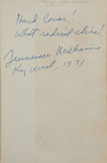 Books:Literature 1900-up, Tennessee Williams and Donald Windham. You Touched Me! ARomantic Comedy.... NY: [1947]. Inscribed by William...