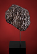 Meteorites:Palasites, NWA STONE METEORITE - ORIENTED METEORITE WHICH SKIPPED THROUGHEARTH'S ATMOSPHERE. Classification Unknown . TheSahara... (Total: 2 Items)