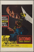 "Movie Posters:Musical, Satchmo The Great (United Artists, 1957). One Sheet (27"" X 41""). Musical.. ..."