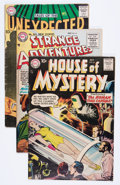 Silver Age (1956-1969):Horror, DC Silver Age Mystery/Horror Group (DC, 1960s) Condition: AverageVG-.... (Total: 13 Comic Books)