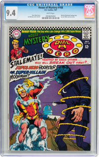 House of Mystery #168 (DC, 1967) CGC NM 9.4 White pages