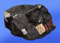 Meteorites:Palasites, STANNERN METEORITE - ORIGINATING ON ASTEROID VESTA,. COMPLETESPECIMEN FROM HISTORIC METEORITE SHOWER . Eucrite - EUC ...