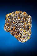 Meteorites:Palasites, IMILAC METEORITE - LARGE COMPLETE SLICE WITH GLEAMING NICKEL-IRONMATRIX AND EXTRATERRESTRIAL PERIDOT. Pallasite - PMG. ...