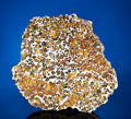 Meteorites:Palasites, LARGE IMILAC END PIECE - SHOWCASING INTERIOR AND EXTERIOR OF ANEXOTIC METEORITE WITH GEMSTONES FROM OUTER SPACE.Pallasit...