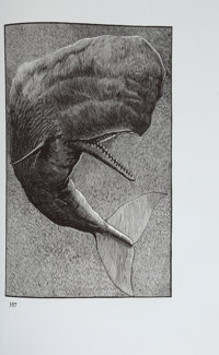 [Arion Press]. [Barry Moser, illustrator]. Herman Melville. Moby-Dick; or, The Whale