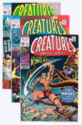 Bronze Age (1970-1979):Horror, Creatures on the Loose Group (Marvel, 1971-75) Condition: AverageVG/FN.... (Total: 32 Items)