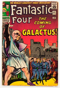 Fantastic Four #48 (Marvel, 1966) Condition: FR/GD