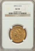 Liberty Eagles: , 1895-O $10 AU58 NGC. NGC Census: (219/366). PCGS Population(92/247). Mintage: 98,000. Numismedia Wsl. Price for problem fr...