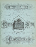 Books:Americana & American History, [Kansas.] Kansas City Illustrated 1876-1877 . Kansas City: Ramsey, Millett & Hudson, [1877?]. First edition. ...