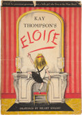 """Books:Children's Books, Kay Thompson. Eloise. New York: Simon and Schuster, 1955.First edition, first printing (""""Lily Daché"""" on page 50). ..."""