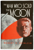 Books:Science Fiction & Fantasy, Robert A. Heinlein. The Man Who Sold the Moon. Chicago: Shasta, [1940]. First edition. Inscribed by Heinlein t...