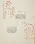 Books:Fine Press & Book Arts, [Limited Editions Club]. Aristophanes. Lysistrata. A New Version byGilbert Seldes. With a Special Introduction by Mrs. Seld...