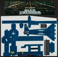 """Movie Posters:Action, Blue Thunder (Columbia, 1983). Helicopter Cardboard Mobile (10"""" X 14""""). Action.. ..."""