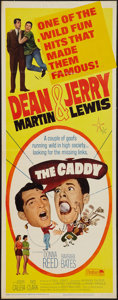"Movie Posters:Sports, The Caddy (Paramount, R-1964). Insert (14"" X 36""). Sports.. ..."