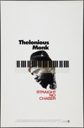 """Movie Posters:Documentary, Thelonious Monk: Straight, No Chaser (Warner Brothers, 1988). One Sheet (27"""" X 41""""). Documentary.. ..."""