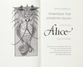 Books:Fine Press & Book Arts, [Pennyroyal Press]. [Barry Moser, illustrator]. Lewis Carroll.Through the Looking-Glass and What Alice Found There....