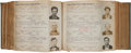 Books:Americana & American History, [Prison Mugshot Book]. Description of Prisoners Received...[N.p., 1915-1923]. ...