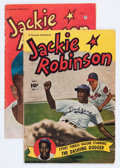 Golden Age (1938-1955):Non-Fiction, Jackie Robinson #4 and 5 Group (Fawcett Publications, 1951-52)Condition: Average VG+.... (Total: 2 Comic Books)