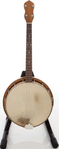 Musical Instruments:Banjos, Mandolins, & Ukes, No Name Maple Tenor Banjo. ...