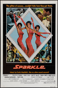 """Sparkle (Warner Brothers, 1976). One Sheets (2) (27"""" X 41"""") Styles A & B. Black Films. ... (Total: 2 Items..."""