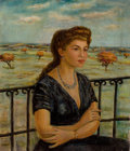 Latin American:Early 20th Century, ANTONIO BERNI (Argentine, 1905-1981). Retrato (Portrait of theArtist's Wife), c. 1928. Oil on canvas. 27-3/4 x 24 inche...
