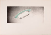ED RUSCHA (American, b. 1937) Plate (from Domestic Tranquility Series), 1974 Color lithograph 8-1