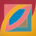 Prints:Contemporary, FRANK STELLA (American, b. 1936). River of Ponds II (from theNewfoundland series), 1971. Color lithograph. 39-7/8 x 39-...