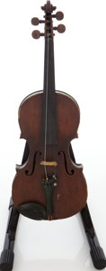 Musical Instruments:Violins & Orchestra, Early 1900s E. Martin Sachsen Brown Stain Violin....