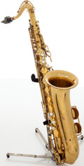 Musical Instruments:Horns & Wind Instruments, 1950s H.N. White Cleveland Brass Tenor Saxophone, Serial # C92820....