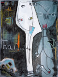 Latin American:Contemporary, ALFREDO DUANY (Cuban, b. 1962). Thai la Nina Buena, 2008.Mixed media on canvas. 31-3/4 x 24 inches (80.6 x 61.0 cm). Ti...