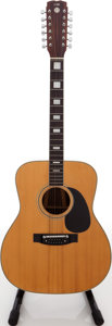 Musical Instruments:Acoustic Guitars, 1970s C.G. Conn Natural 12-String Acoustic Guitar....