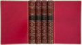 Books:Fine Bindings & Library Sets, Oliver Goldsmith. The Works of Oliver Goldsmith. London: Murray, 1854.... (Total: 4 Items)
