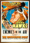 Memorabilia:Poster, The Mysterious Pilot Chapter 3 Serial Poster (Columbia,1937)....