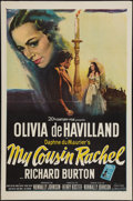 "Movie Posters:Mystery, My Cousin Rachel (20th Century Fox, 1952). One Sheet (27"" X 41""). Mystery.. ..."