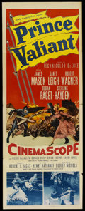 "Movie Posters:Adventure, Prince Valiant (20th Century Fox, 1954). Insert (14"" X 36"").Adventure. ..."