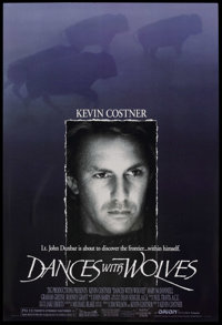 """Dances With Wolves (Orion, 1990). One Sheet (27"""" X 41"""") SS. Academy Award Winner"""